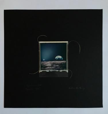 SpaceSnake 70£ SpaceMoon (polaroid film)