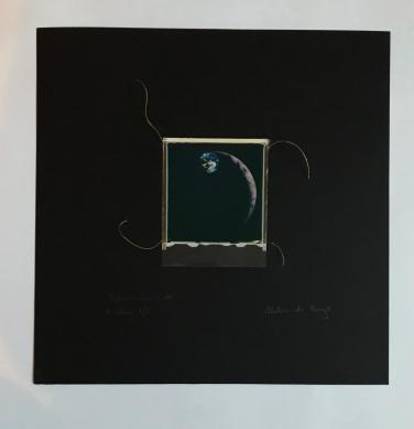 SpaceSnake 70£ SpaceMeeting (polaroid film)