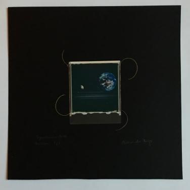 SpaceSnake 70£ SpaceMushroon (polaroid film)