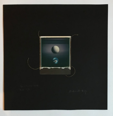 SpaceSnake 70£ SpacePearl (polaroid film)